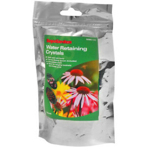 Water Retaining Crystals Liners Storing Gel Plants Pots Hanging Basket Tub 120g