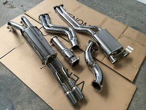 Venom FG FGX XR6 Turbo Ute Turbo-Back Exhaust - Falcon XR6 FPV F6 BARRA
