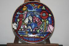 1972 CARTIER CATHEDRAL PLATE CHARTRES - FIRST ISSUE LIMITED EDITION - FRANCE