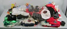 Huge 37+ Lot of BUILD A BEAR Outfits: Costumes,Hats,Overalls,Dresses,Accesories