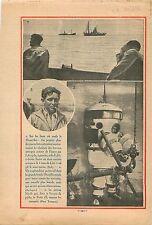 Scaphandrier Scaphandre Sous-Marins Submarine Prométhée Marine 1932 ILLUSTRATION