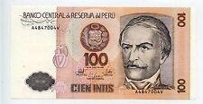 BILLET PERU / PEROU 1987 / EN L'ETAT