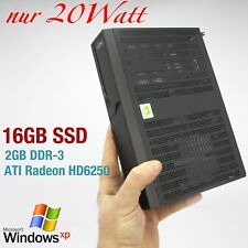 Mini Ordenador Fujitsu PARA WINDOWS XP 16gb SSD 2gb DDR3 rs-232 ATI hd6250 Quake