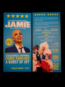 EVERYBODY'S TALKING ABOUT JAMIE London Musical Flyer Bianca Del Rio, Noah Thomas