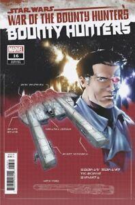 STAR WARS BOUNTY HUNTERS #16 - Blueprint Variant - NM - Marvel - Presale 09/22