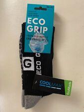 "Grip Socks COOLMAX® ""Eco Grip"" Sportfunktionssocken schwarz Gr 36-41 NEU + OVP"