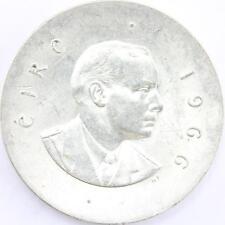 1966 Irish Commemorative .925 Silver 10 Shillings
