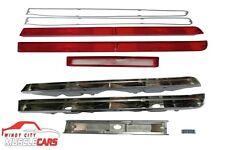 1970 AMC AMX / Javelin Back Up Reverse and Tail Light Bezels and Lenses Set
