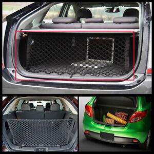XUKEY Rear Trunk Envelope Cargo Net Luggage Organiser Elastic Net 90*30 For SUV
