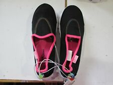 GIRLS S SPORT BY SKECHERS BLACK PINK SLIP ON COMFORT SHOES YOUTH SIZE 2
