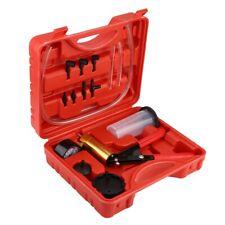 Auto Hand Held Vacuum Pump Pressure Tester Kit Brake Bleeder Test Tool new