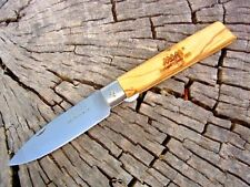 MAM Portugal knife 2137 Olive wood linerlock folder