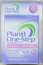 Plan B One-Step Emergency Contraceptive (1.5mg) One Tablet - NEW