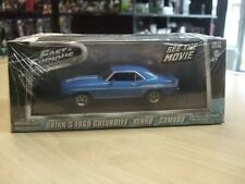 FAST & FURIOUS Brian's 1969 Chevy Yenko Camaro SCALE 1:43 by GREENLIGHT