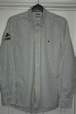 GAASTRA NAUTICAL SUPPLIES SIZE L MENS IL ODYSSEY EMBROIDERED STRIPE SHIRT IN VGC