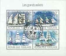 Timbres Bateaux Togo 3513/6 o année 2013 lot 19323 - cote : 17 €