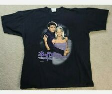 Vtg 1998 Buffy The Vampire Slayer Promo T-Shirt Size L Rare Fox Tv Movie Angel