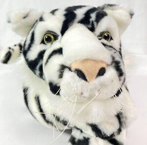 FAO Schwarz White Tiger Plush 25 Inch Toys R Us Rare
