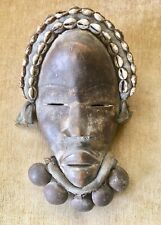 New listing Antique African Ceremonial Mask with bells