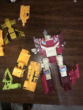 Transformers G1 Vintage KO Combiner Decepticon Lot