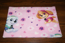New Pink Paw Patrol Puppy Fleece Dog Cat Pet Carrier Bed Blanket Pad Free Shipp!