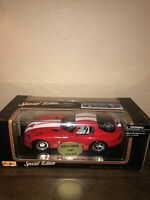 Maisto Special Edition 1:18 Scale Die Cast 1996 RED Dodge Viper GTS New in Box