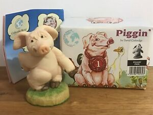 Piggin' Pain Collectable Pig Figure Statue By David Corbridge 1996 With Box