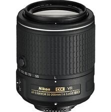 NEW NIKON AF-S DX NIKKOR 55-200MM F/4-5.6G ED VR II LENS MANUAL FOCUS OVERRIDE