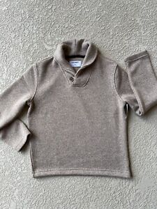 Old Navy Fleece-Knit Shawl-Collar Pullover for Boys M(8) Long Sleeves