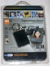 Digital Photo Album With Keychain 8Mb/USB Rechargeable - NEW - 60 Color Images