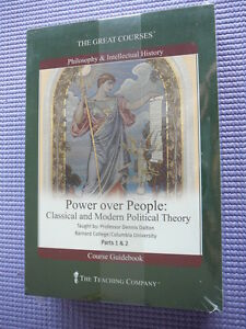 Teaching Co Great Courses  CDs :           POWER OVER PEOPLE        new & sealed