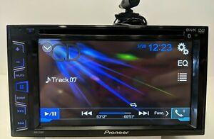 PIONEER AVH-270BT 2-Din DVD/CD Bluetooth Touchscreen Reciever *Tested Fully*
