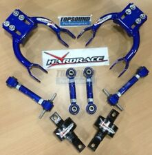COMBO PACKAGE! HARDRACE Front &Rear Camber /Toe Kit /Trailing Bush Honda EG DC2