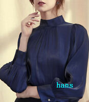 occident women tops sprng long sleeve formal business party shirts tops OL SIZE