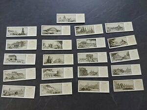 Typhoo Tea Cards - 21 Cards From Wonder Cities Of The World Series Of 25