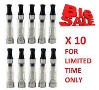10 VAPE E  CIG  SHISHA PEN TANK TOP FILTER VAPOURISER-ATOMISER-CLEAROMISER CE  4