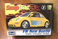 REVELL SNAP-TITE VW NEW BEETLE 1/24 SCALE MODEL KIT