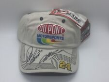 NASCAR DuPont Motorsports Hat Signed By Jeff Gordon & Crew Chief Robbie Loomis