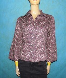 chemise CACHAREL vintage année 80' Taille 40 / 42 100% coton BON ETAT