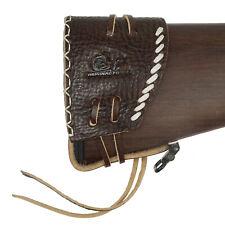 Коричневая кожаная пушка амортизационная прокладка винтовка на плечо защитный коврик США доставка