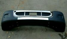 Freightliner Cascadia Front Bumper Without Fog Lights Holes With Chrome