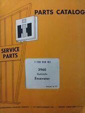 International Harvester Ih 3960 Hydraulic Excavator Crawler Tractor Parts Manual