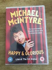 GREAT COMEDY DVD-MICHAEL McINTYRE-HAPPY & GLORIOUS LIVE AT O2 ARENA-NEW & SEALED