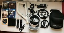 Sony PlayStation VR (PSVR) CUH-ZVR2 Headset Bundle , Aim Controller , and more!
