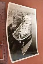 tolles altes  Foto - Frachtschiff - Baldur  60er Jahre