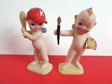 2 Vintage Kewpie By Jesco Figurines - 1990