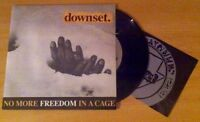 "Downset - NO MORE FREEDOM IN A CAGE 7"" VINYL"