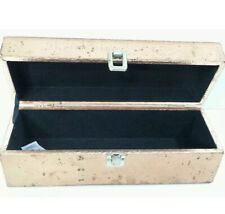 Wine Carry Case  Bronze Wood Box  Wine Gift Box & Carrying Case