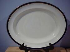 """Vintage Alfred Meakin Oval Platter """"Bleu de Roi"""" England 16"""" x 13"""""""