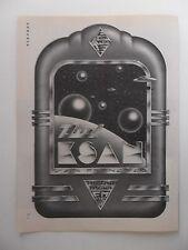 1974 Print Ad KSAN 95fm San Francisco Radio Station ~ UFO Space Art